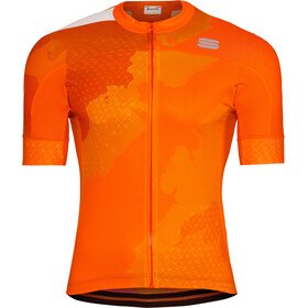 Sportful Bodyfit Team 2.0 Dolomia Maillot Hombre, orange sdr